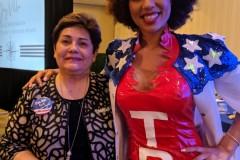 Joy Villa with 2nd VP Betty Scheidt