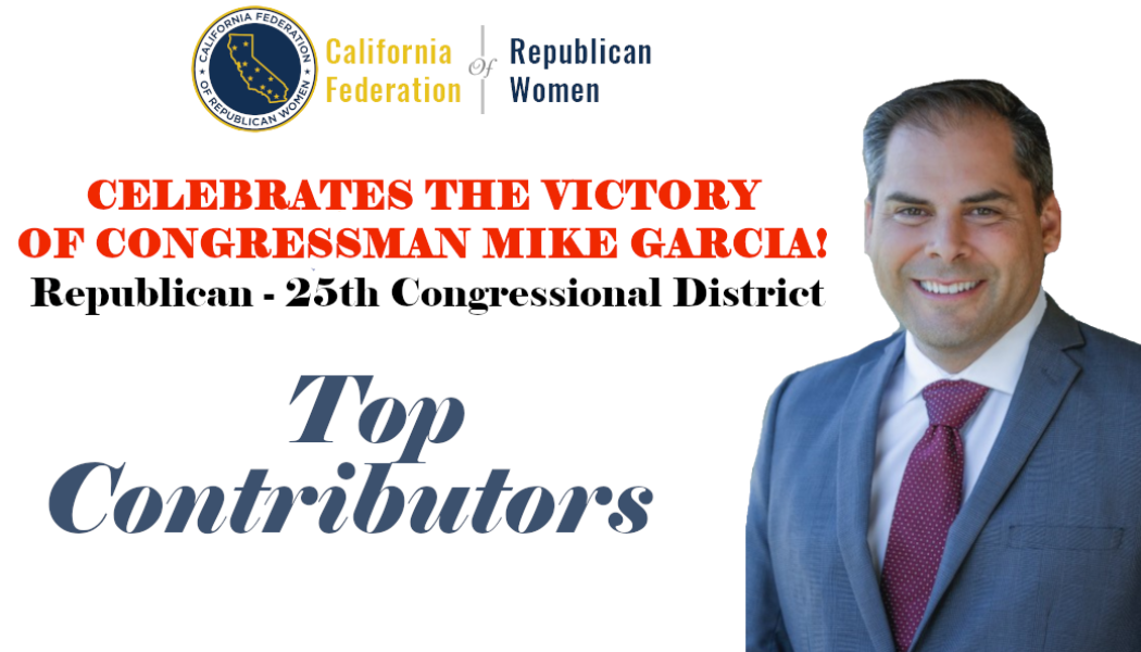CFRW Assists Mike Garcia to Victory