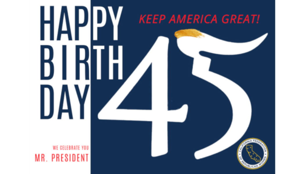 President Trump Birthday Postcard Project