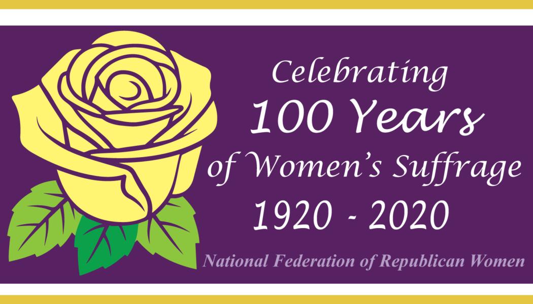 CFRW Celebrating 100 Years of Women's Suffrage