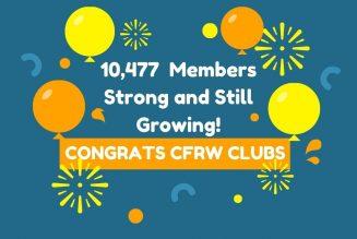 CFRW Hits 100% + In 2020 Membership