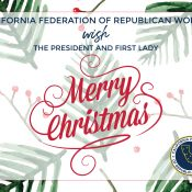 President Trump Christmas Postcard Project