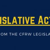 Legislative Action Alert March 27, 2021