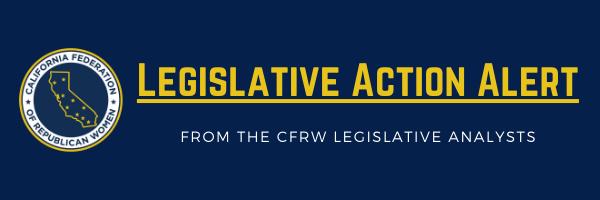 Legislative Action Alert – May 28, 2021